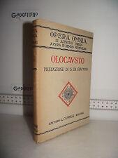LIBRO Opera Omnia Alfredo Oriani OLOCAUSTO 1^ed.1925 Prefaz.Salvatore Di Giacomo