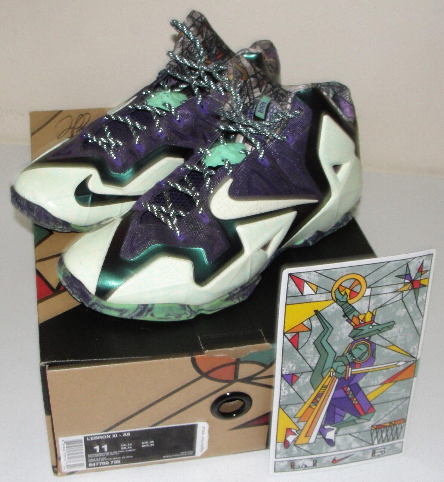 Nike lebron xi all star game gator re - 44 gumbo league