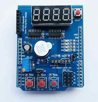 Funduino Multi-function Shield For Arduino LENARDO MAGE2560 Learning Kit Good