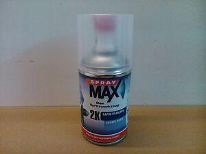 1-Spraydose-2K-Klarlack-glaenzend-Spray-Max-Autolack-Lack-250ml-Rapid-Lackspray