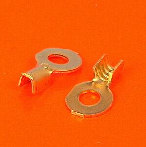 Haute Qualité M3 3.4mm Des Crimp Ring Terminal-pack Tailles 10 à 100-afficher Le Titre D'origine