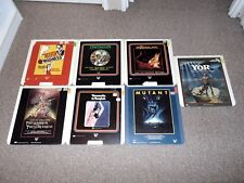 Lot of 7 Cult Classic RCA CED Video Discs Vestron Video Reefer Madness More