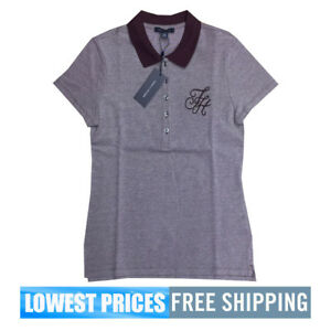0e44d80c Tommy Hilfiger NWT Women's Heritage Shirt PVO Violet Top Polo With ...