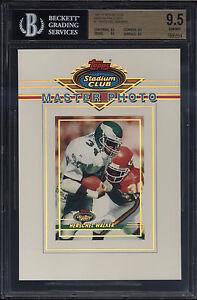 1993-Stadium-Club-5x7-Master-Photo-Herschel-Walker-Gem-Mint-BGS-9-5-Philadelphia