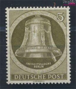 Berlin-oeste-82y-horizontal-engomado-estriado-nuevo-1952-campana-de-la-7189161