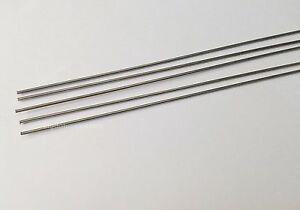 284yc 5x Stainless Steel Rods D1mm L500mm 19 6inch For Rc