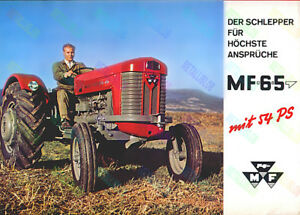 Massey Ferguson 135 Tractor Advertising 3 For 2 Offer - a3 Poster