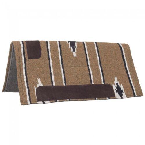 1 Tan Sierra carré avec feutre Fond de selle cheval Tack 31-640 Tough