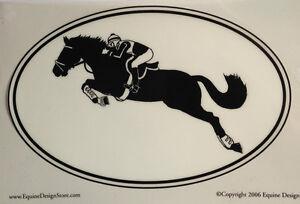 Eventer Decal - Sporthorse Design Euro Oval - NEW