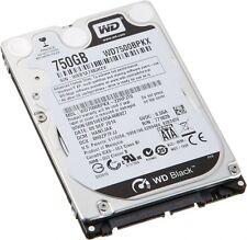"""WD Black 750GB SATA  16MB 7200 RPM 2.5"""" Hard Drive HDD Internal WD7500BPKX"""