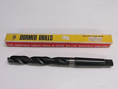 "SHEFFIELD TWIST DRILL 55//64/"" DRILL BIT ENGLAND 11/"" LONG NOS 3MT SHANK"