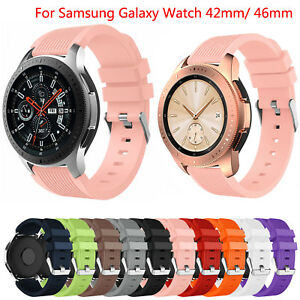 Silicone-Strap-Band-for-Samsung-Galaxy-Watch-42mm-46mm-Wristbands-Sport-Bracelet