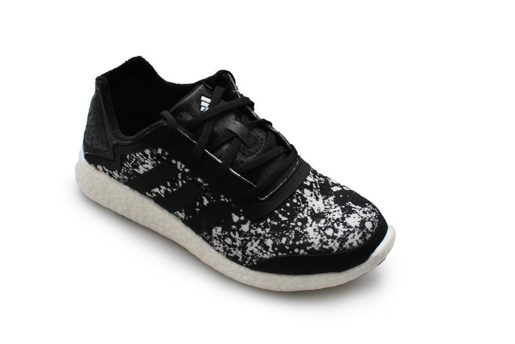 Da Donna Adidas pureboost pureboost pureboost W Q4-m21408-Nero Bianco Scarpe Da Ginnastica 7096d1