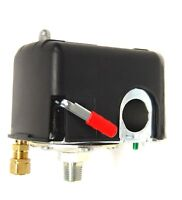 Devilbiss Air Compressor Pressure Switch W/ On-off Lever &unloader 105-135 Psi