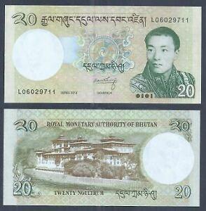 Bhutan-2013-20-Ngultrum-UNC-2013-20-L06029711