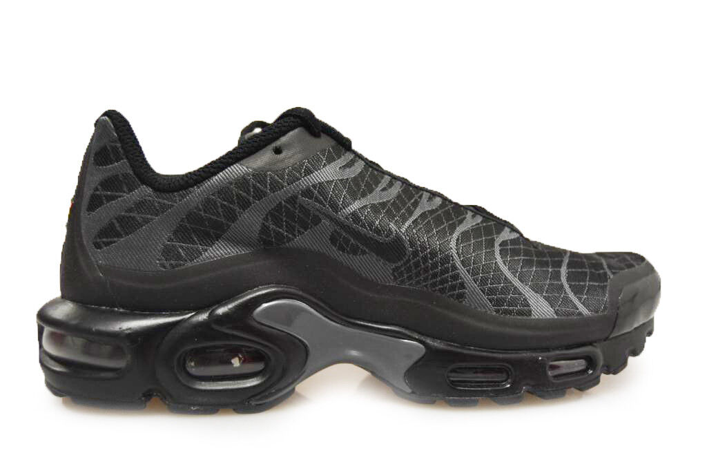 hommes Nike 845006 Air Max Plus JCRD - 845006 Nike 002 - Baskets noires 2a63ba