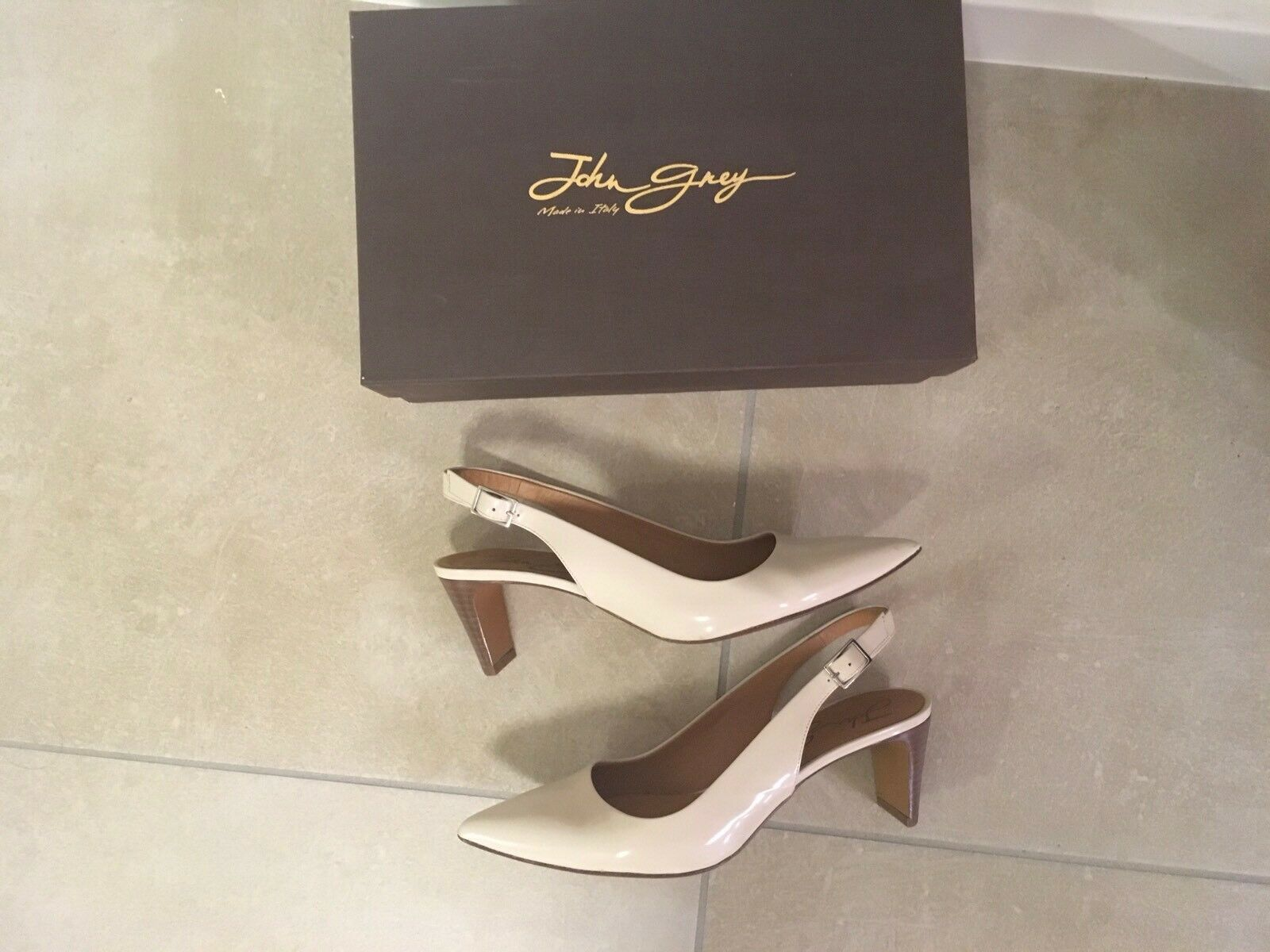 John grau  Leder Schuhe Damen Nude Nude Nude Gr. 37,5 Flex Memory Carbon Soft a7f1a5