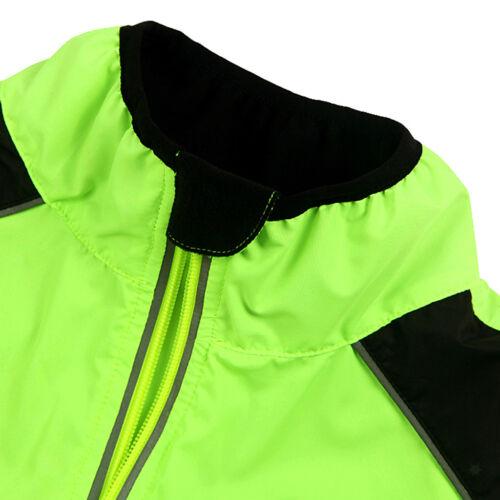 Vélo Veste Vêtements de Sport Coupe-vent Manteaux Long Jersey Homme