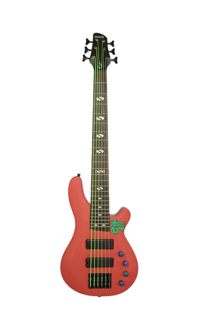 Quincy Pittsburgh BUZZARD UK MA 6 string BASS guitar electric Active Passive