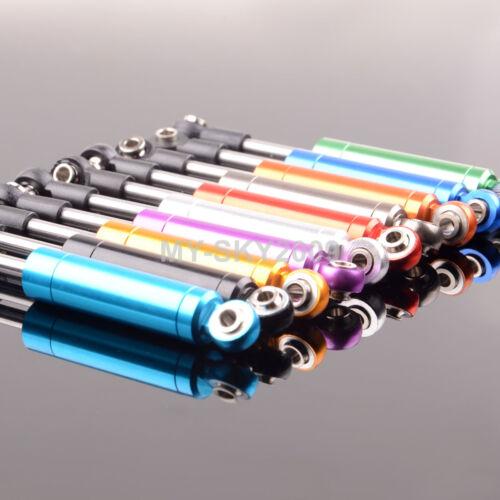 2pcs Aluminum Oil Shock Absorber Damper 82mm Tamiya Kyosho Axial HPI SCX10 CC01