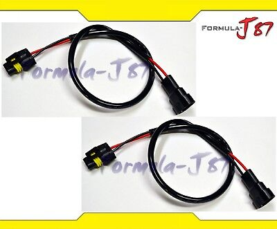 2x Longer HID Extension Wire 24/'/' inches Harness HID Ballast Universal Extends