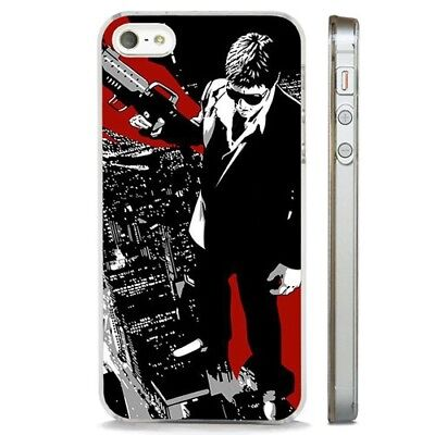 Scarface Al Pacino Tony Montana CLEAR PHONE CASE COVER ... |Scarface Phone Case