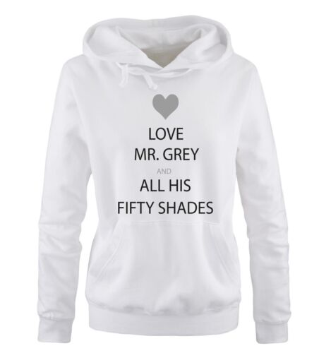 Mi hai interrotto shirts-Love Mr Grey and Fifty Shades-Donna HoodieShades of Grey
