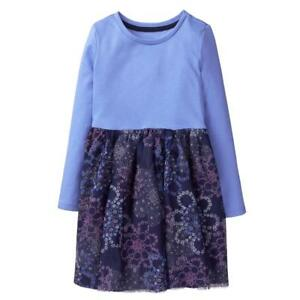 NWT Gymboree Fairytale forest Floral Tutu Dress Gray Girls toddler 2T,3T