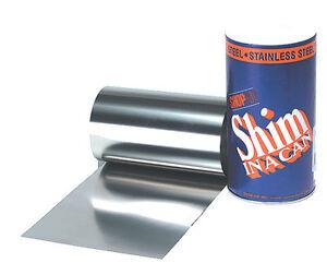 ".007/"" Steel Shim Stock Roll"