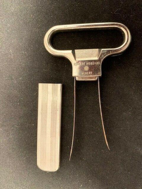 Vintage Cork Puller Ah-So Wine Opener Corkscrew Home Bar Wine Bottle Opener RF