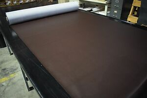 "15 Yard Dk Chocolate Brown Marine Outdoor Auto Fabric Boat Upholstery 54""W Vinyl"