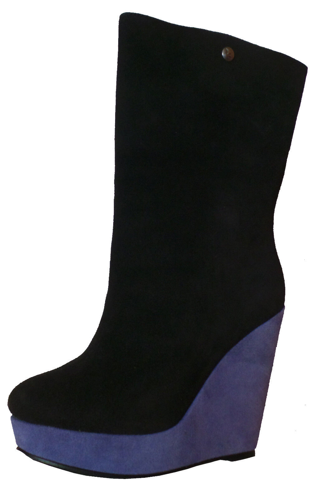 KOOLABURRA KOOLABURRA KOOLABURRA MILA Ladies  Suede Ankle Boots Black-bluee NEW 2aebe2