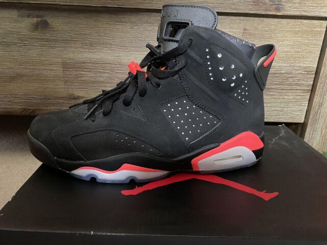 Nike Air Jordan VI 6 Black/Infrared