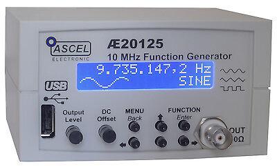 AE20125 10 MHz Wobbel-DDS-Funktionsgenerator Komplett-Bausatz mit Gehäuse/USB