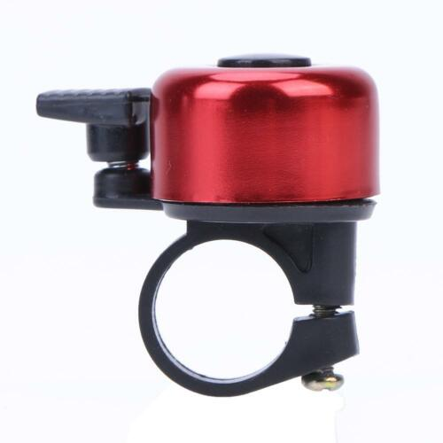 Aluminum Alloy Bicycle Bell Cycling Handlebar Alarm Horn Bike Ring Colorful LOT