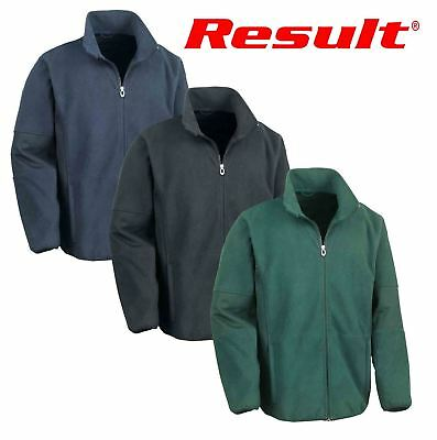 Result Mens Osaka TECH Performance Combined Pile Softshell Waterproof Windproof Jacket