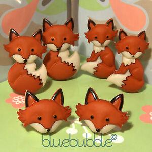 FUNKY-FOX-FACE-EARRINGS-KITSCH-CUTE-KAWAII-RETRO-WILD-ANIMAL-FUN-COOL-FOXY-LADY