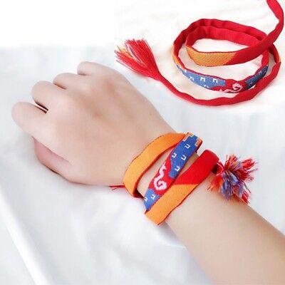Anime Your Name Bracelet Tachibana Taki Miyamizu Mitsuha Chain Hand Red Rope New