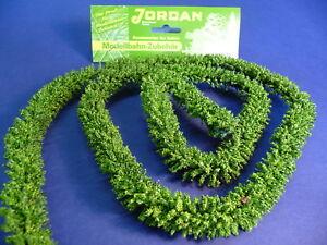 Jordan-Hecke-gruen-100-cm-lang-fuer-H0-034-wunderschoen-034-13