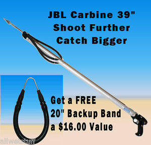 FREE-Xtra-Band-w-JBL-D7-Carbine-Speargun-Spear-gun-fish-catch-shoot-spearfish