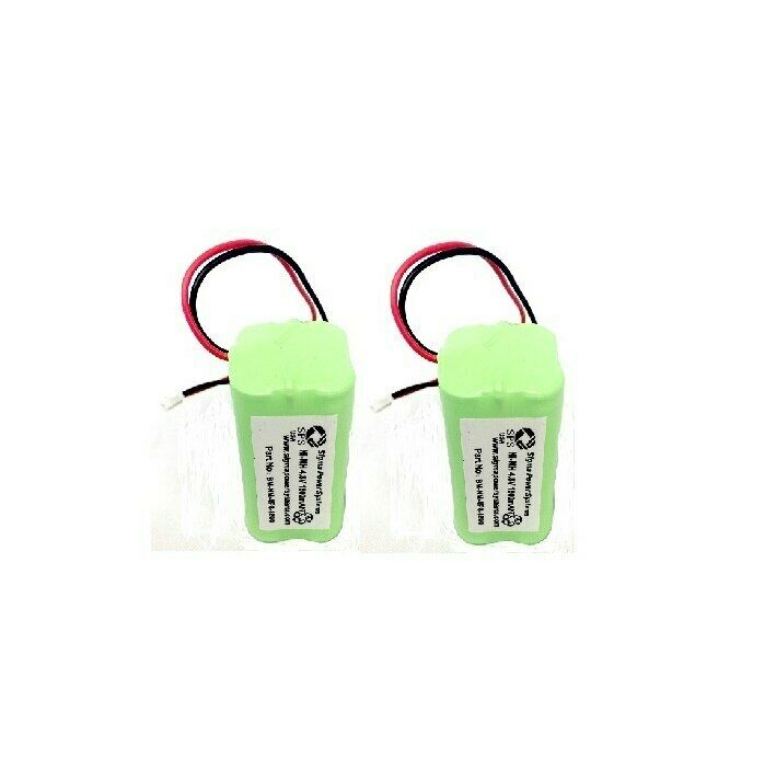 SPS Brand 4.8V 1800mAh Replacement Battery for Summer Infant 02720 (2 Pack)