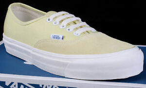 fde9eb544b New Vans OG Authentic LX Suede Canvas Chardonnay Yellow Shoes - Size ...