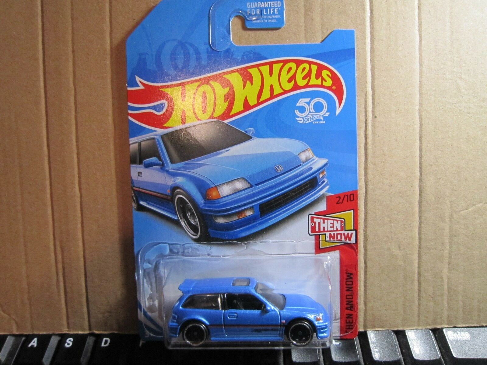 2015 Hot Wheels '90 HONDA CIVIC EF Zamac & 2017 KMART EXCL.'90 HONDA CIVIC EF