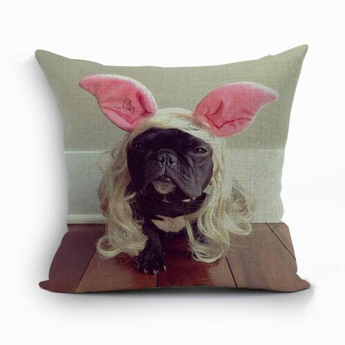Animals United Home Decor Cotton Linen Pillow Case Sofa Throw Cushion Cover New