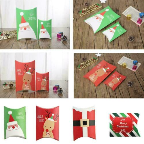 Pouch Xmas Home Decor Christmas Kraft Bag Paper Candy Shape NewN ...