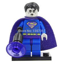 New! BIZARRO SUPERMAN Zombie Minifigure LEGO Compat. DC Comic Custom
