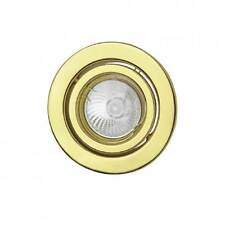 Faretto a Incasso Oro Lucido Orientabile 50W 220-240V