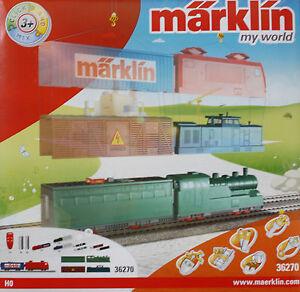Maerklin-H0-36270-Batteriebetriebene-Lokomotive-My-World-Serie-Click-and-Mix-Neu