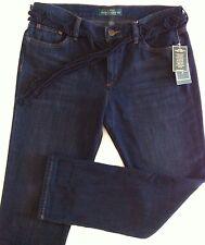 Women's Lauren Ralph Lauren Boyfriend Fit Blue Jeans Size 6 NWT $89.50 New CUTE!