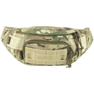 Wisport-Gekon-Tactical-Military-Waist-Pack-Travel-MOLLE-Fanny-Bag-MultiCam-Camo